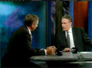 Brian Williams on the Daily Show
