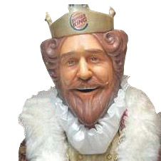 Creepy Burger King