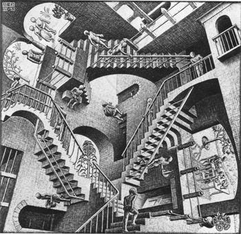 Escher's Relativity