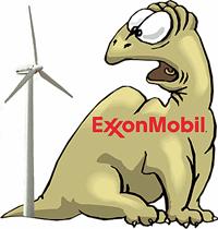 Exxon Mobile Fossil Fuel Dinosaur