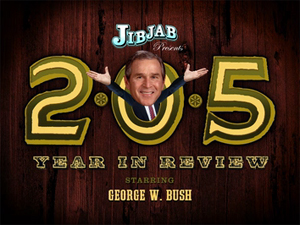 2-0-5: George Bush's Year in Review