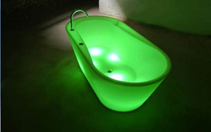 Light Up Bathtub