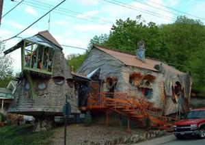 Cincinnati Mushroom House