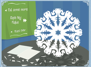 Snowflake Flash Game