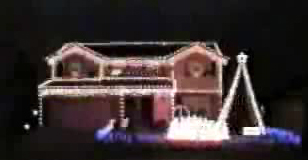 Trans-Siberian Home Lights Display